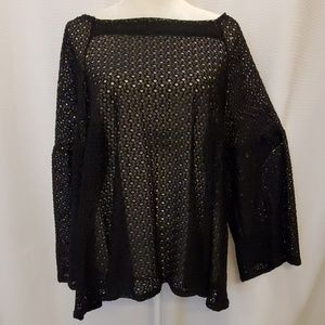 Nally and Millie USA top, size L/XL NWOT